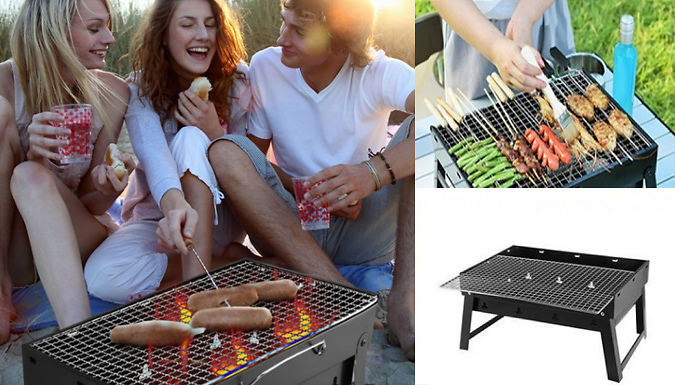 Folding Portable BBQ - Perfect For Camping!