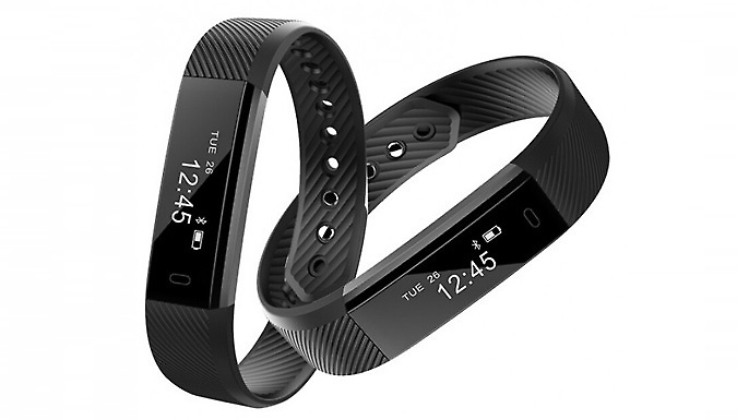 12-in-1 Touchscreen Fitness Tracker - 5 Colours