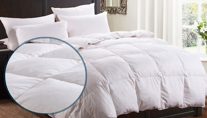All Seasons Natural Duck Feather and Down Duvet  4 Sizes