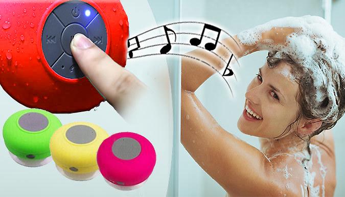 Waterproof Bluetooth Speaker - 3 Colours
