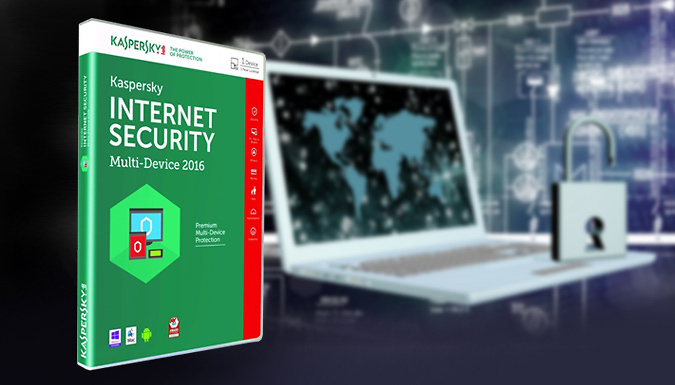 Kaspersky® Internet Security 2016 Multi Device Version