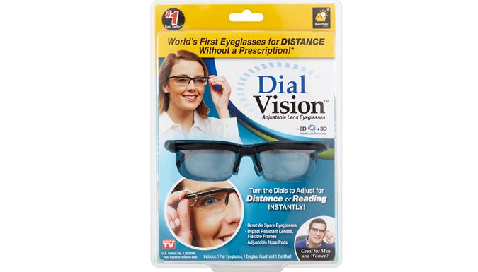 Adjustable Dial Vision Spectacles