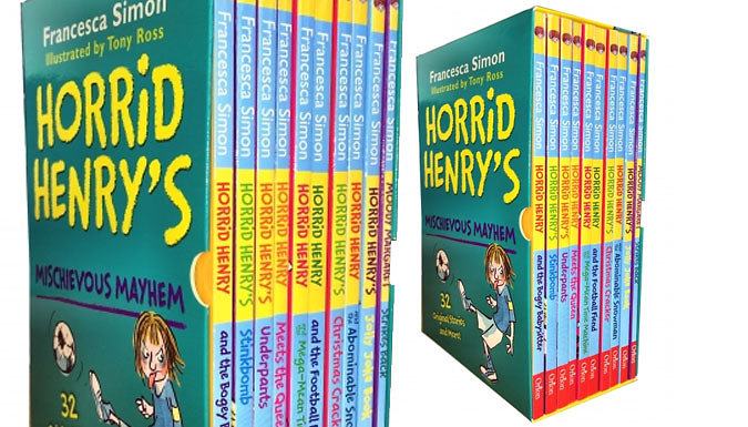 Horrid Henry Michievous 10Book Set