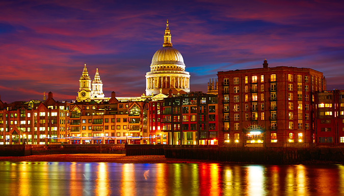 London, England: 1-2 Night 4* Hotel Stay With Breakfast, View From The Shard & River Cruise