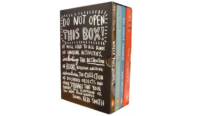 Compare retail prices of 'Do Not Open This Box' 4 Book Collection to get the best deal online