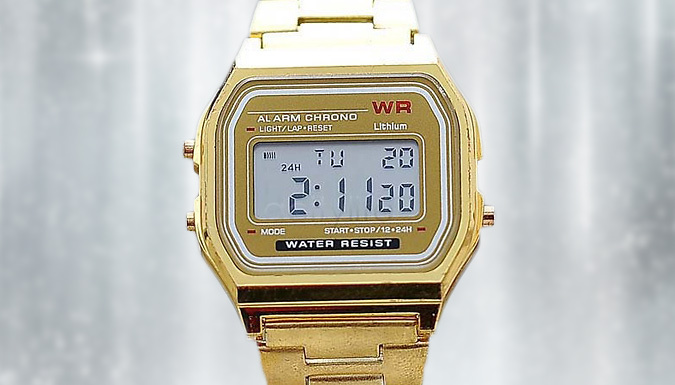 Men's Multifunctional Digital Watch