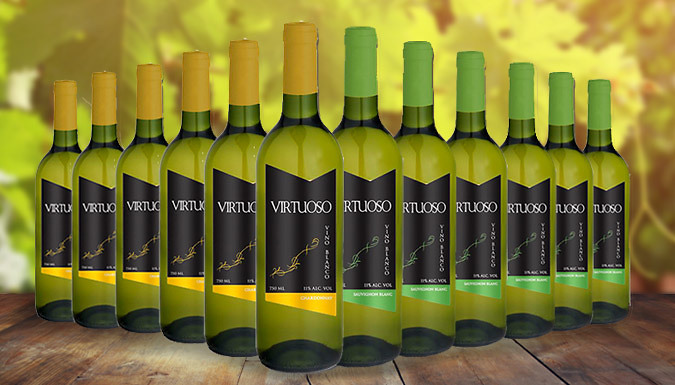 12-Bottle Chardonnay and Sauvignon Blanc Collection