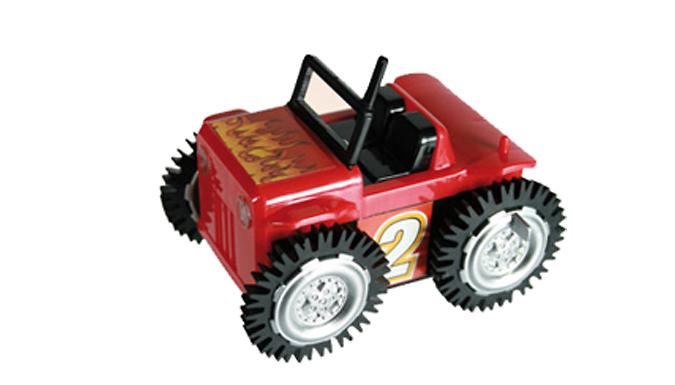 2 x Micro Stunt Flip Cars