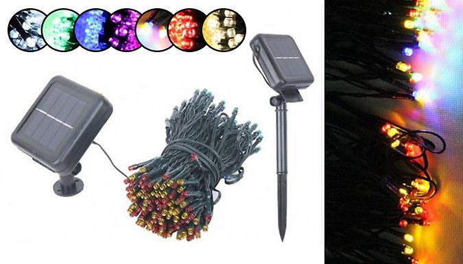 Solar String Fairy Lights  7 Colours