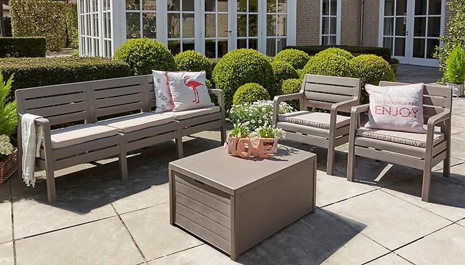 Delano 5Seater Garden Lounge Set