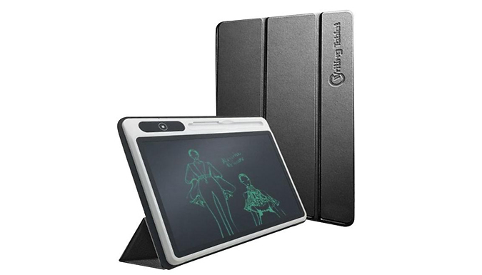 LCD 10.1 Inch Writing Tablet With Case - 2 Colours
