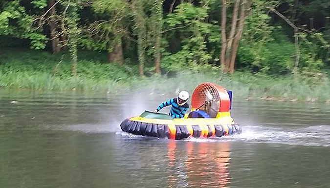 Up to 2-Hour Hovercraft Experience For 1 or 2 - Kent