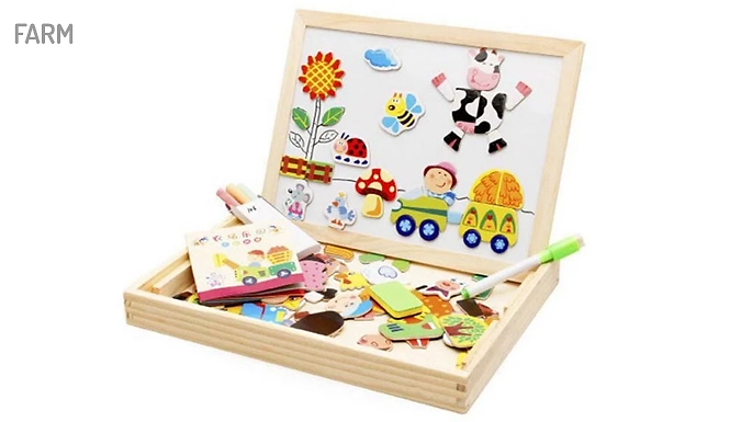 Kids' Magnetic Drawing Board - 2 Styles from Domosecret