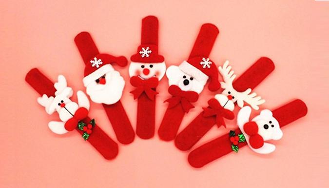 10 Snap-On Christmas Bracelets