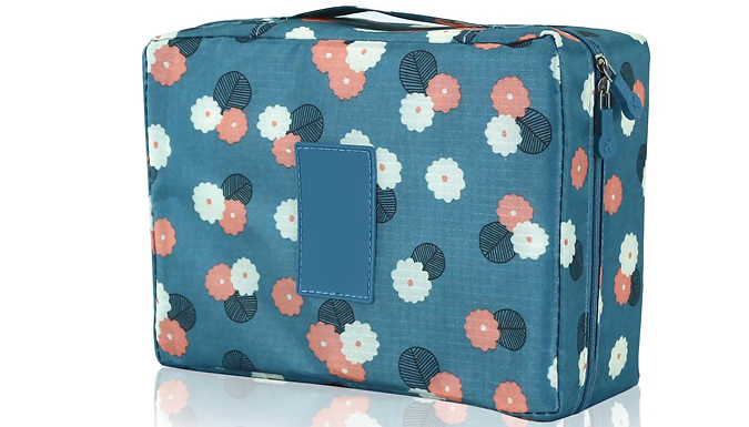 Multi-Compartment Waterproof Toiletries Bag - 3 Colours from Home Season