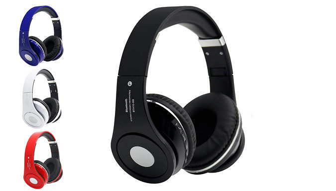 3in1 Wireless Headphones with TF Card Support and FM Radio  4 Colours