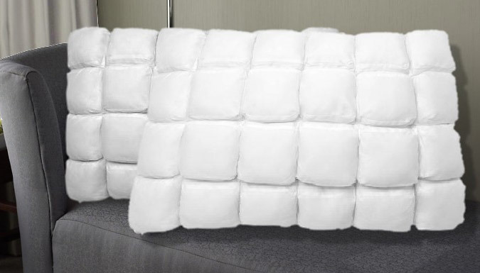 Hotel Quality Pillow with Air Flow Technology - 1 or 2