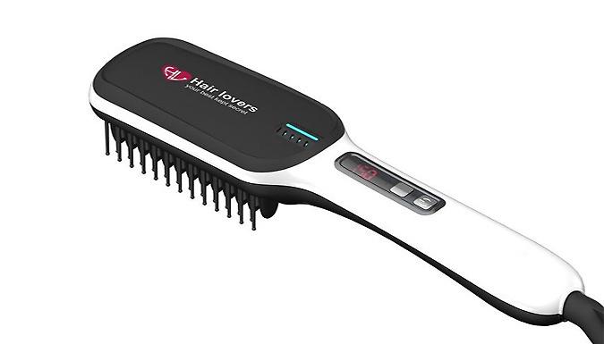 Next Gen' 3-in-1 Hair Straightening Brush - 4 Colours