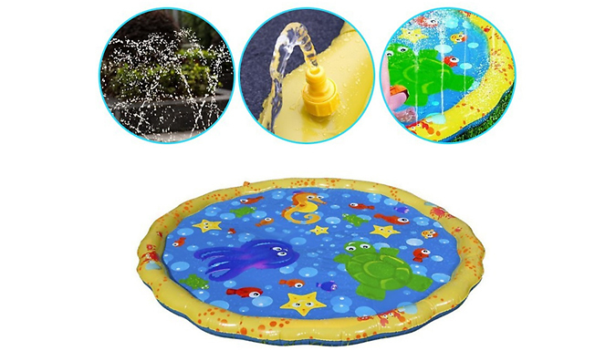 100cm Inflatable Splash Mat