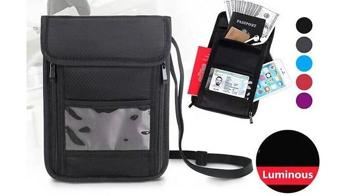 RFID Blocking Passport & Card Holder - 5 Colours from EClife-Style