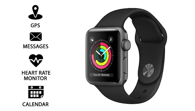Apple Watch Series 3 Cellular in Space Grey