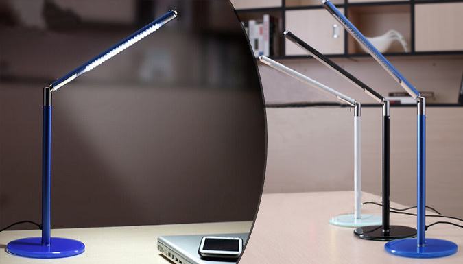 Contemporary LED Desk Lamp  3 Colours