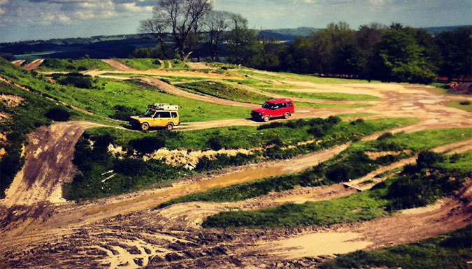 1-Hour 4x4 Off-Road Driving Experience For One or Two - Kent