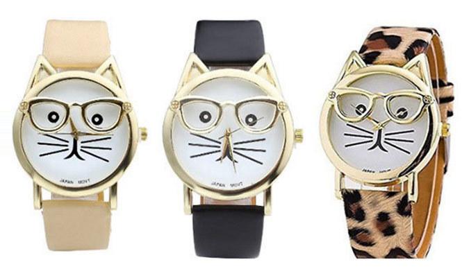 Crazy Cat Watch  3 Designs