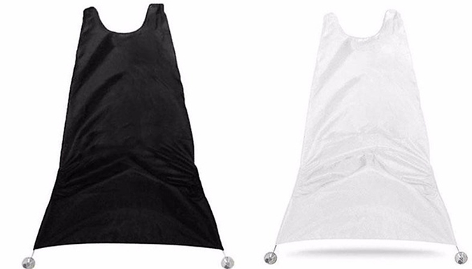1, 2 or 4 Men's Beard Trimming Aprons – 2 Colours (£2.99)