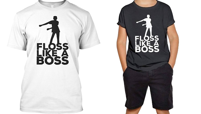 Compare retail prices of 'Floss Like a Boss' Quote Hoodie & T-Shirt to get the best deal online