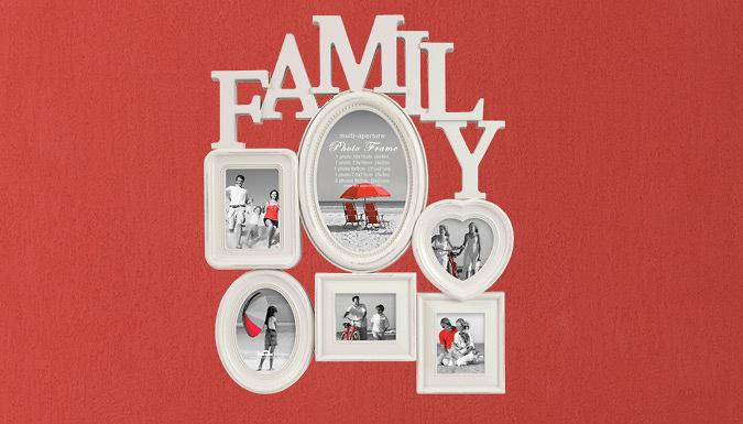 Family Multi-Aperture Photo Frame