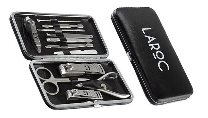 12Piece LaRoc Nail Manicure Kits