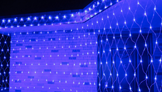 96 LED Net Lighting