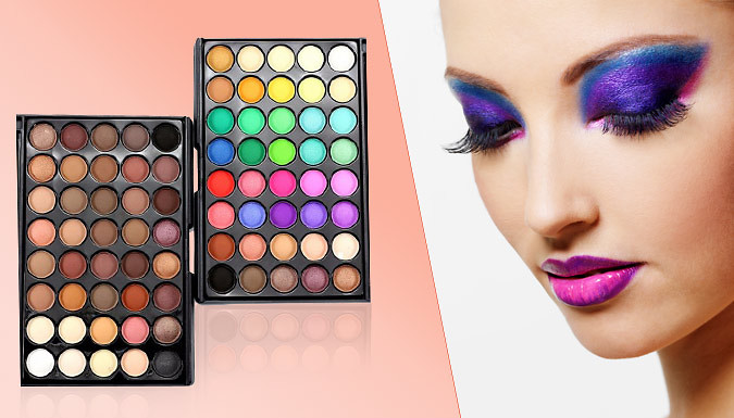 DDDeals - 40-Colour Professional Eyeshadow Palette