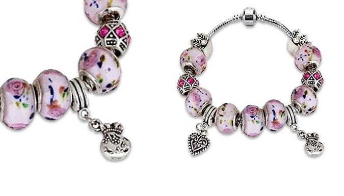 Charm Bracelet - 2 Colours