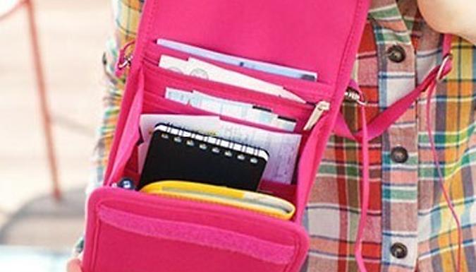 Travel Document Handbag - 2 Colours from London exchainstore