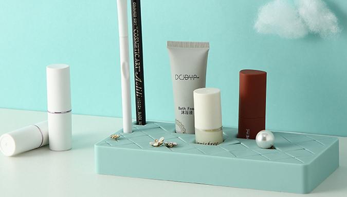 Silicone Desktop Cosmetics Storage - 4 Colours & 3 Sizes