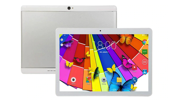 16GB Wi-Fi 10-Inch Android Tablet - 2 Colours