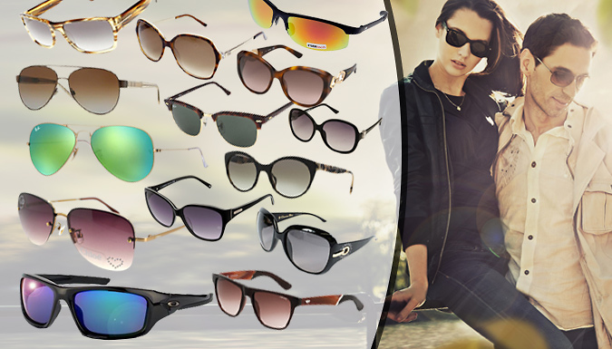 DDDeals - Mystery Designer Sunglasses For Him or Her - Gucci, Prada, Ray Ban, Oakley and More!