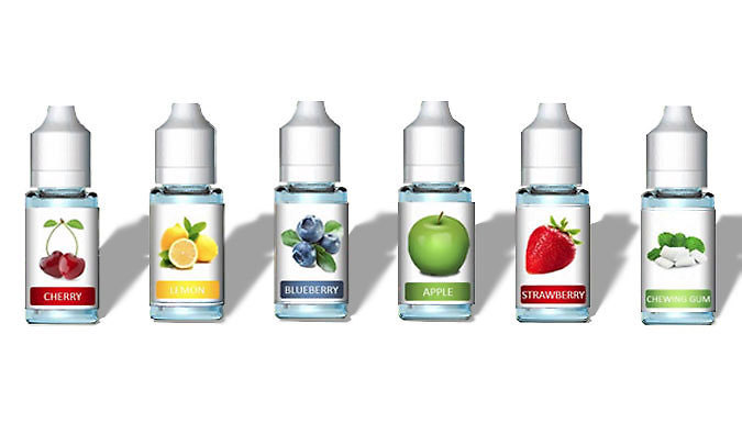 Assorted Flavoured 10ml E-Liquids – 5, 10, or 20 Pack from Go Groopie