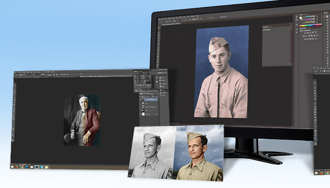 Photo Colourisation Online Course