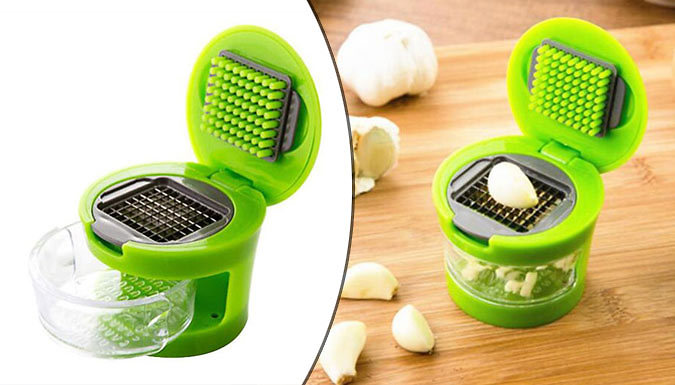 Save on Stainless Steel Garlic Press - 1 or 2 from Go Groopie