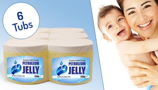 6 Jumbo Tubs of Petroleum Jelly