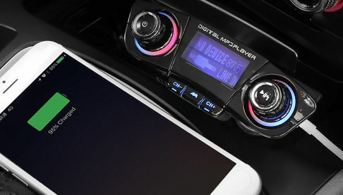 Bluetooth Handsfree Car MP3 Player from HXT Goods