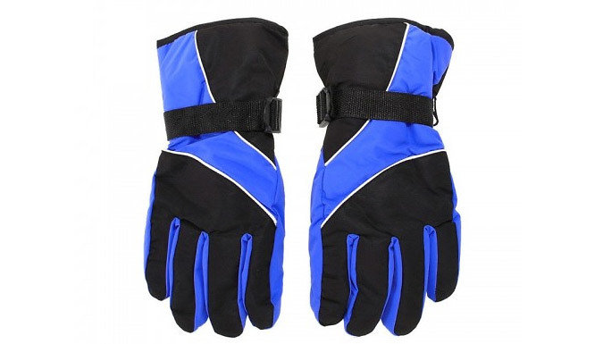 Unisex Waterproof Thermal Gloves - 4 Colours