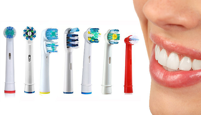 OralB Compatible Toothbrush Heads  7 Styles