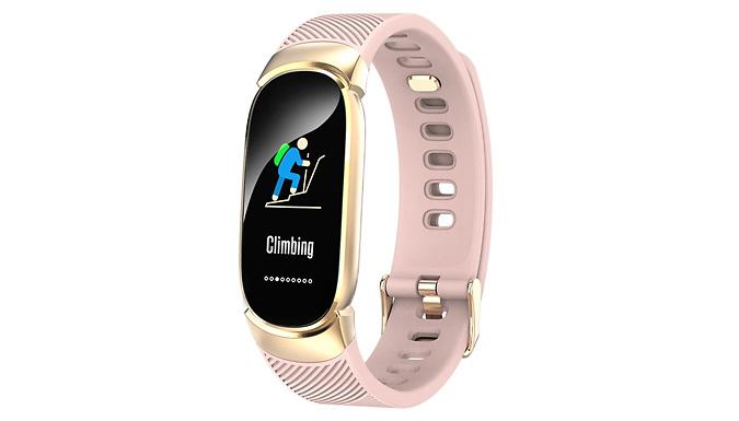 Bluetooth Smart Sports & Blood Pressure Bracelet - 3 Colours