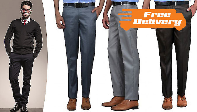 3Pack of Men's Formal Trousers  Free Delivery!