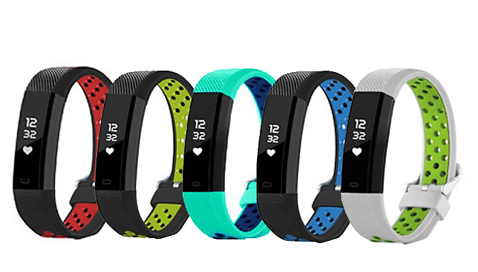 Beta V3 Fitness Tracker with Heart Rate Monitor - 5 Colours!