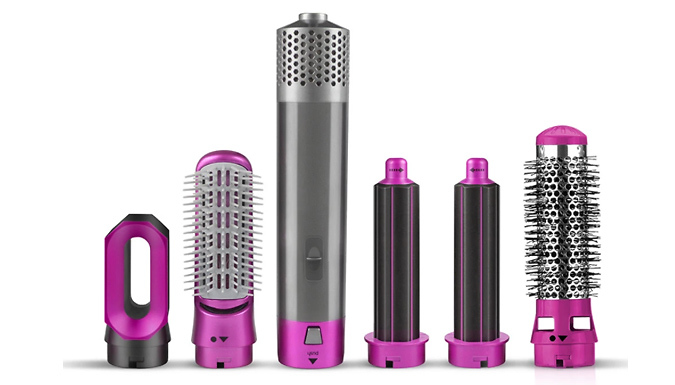 5-in-1 Hot Air Styler - 2 Colours from GoGroopie